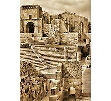 ROMAN THEATRE, PSP EDITED Photographic Print