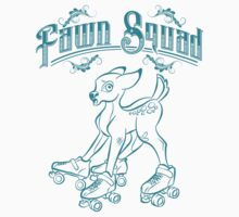 Fawn Squad - teal Kids Clothes