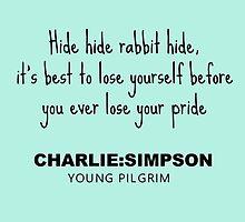 Charlie Simpson Young Pilgrim by funkeyman5