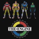 THE ENGINE characters by wildman