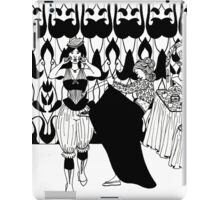 lady with corset iPad Case/Skin