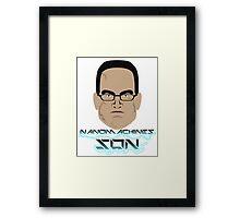 Nanomachines Son Framed Print
