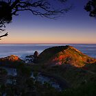 cape at sunset by Greg McMahon