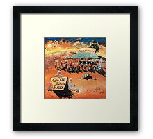 The Ghost Town Rally Framed Print