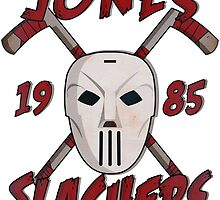 Jones Slashers Mask & CrossSticks by Numnizzle