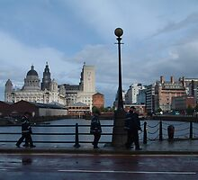 street scene near the Albert Docks by WonderlandGlass