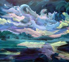 Landscape 888 by Nurhilal Harsa
