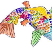 rainbow fish by Amy Sue Stirland