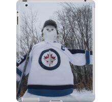 Jets Snowman iPad Case/Skin