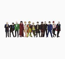 Doctor Who - The 13 Doctors (alternate lineup) Kids Clothes