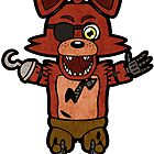 Foxy Chibi by RedFlare