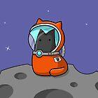 Space Cat by Josh Bush