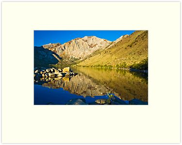 Morning at Convict Lake by Justin Mair