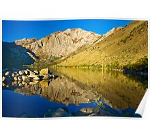 Morning at Convict Lake Poster