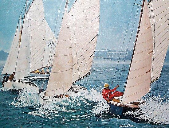 Afternoon Sailing by Kate Eller