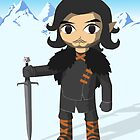 Link Does Jon Snow Cosplay - No text by MrLunarbeam