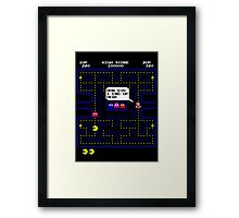 Wrong Turn (clean version) Framed Print