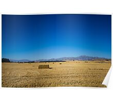 Fields Of Hay...  Poster