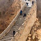 The Great Wall Of China At Badaling - 9 - A Close Up ©  by © Hany G. Jadaa © Prince John Photography