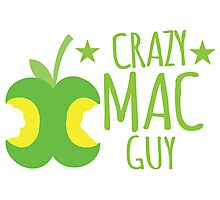 Crazy Mac guy Photographic Print
