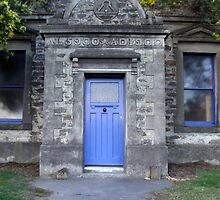 The Blue Masonic Door by Paul Martin