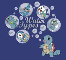 Water Types by Kablahblah