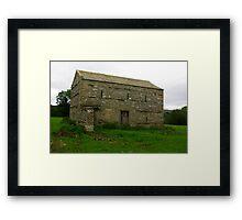 Dales Barn #3 Framed Print