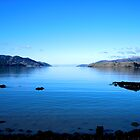 Akaroa Harbour - NZ by John Brotheridge