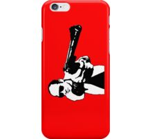Hunter S Thompson - Gun - Large iPhone Case/Skin
