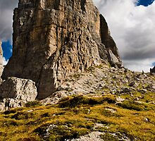 One of the Cinque Torri near Cortina. by peterwey