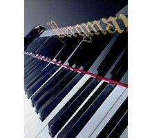 Piano Reflection Photographic Print