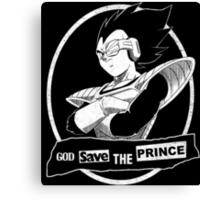 God Save the Prince Canvas Print