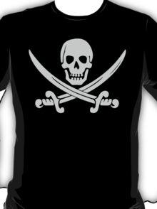 Pirate Logo (White) T-Shirt