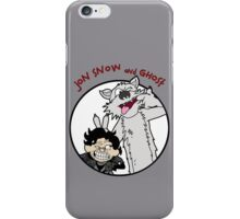 Jon Snow and Ghost iPhone Case/Skin