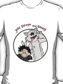 Jon Snow and Ghost T-Shirt