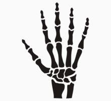 Skeleton hand finger by Designzz