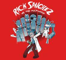 Rick Vs the Multiverse shirt T-Shirt
