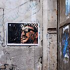 Arafat Poster on a Damascus Street by travellingtwo
