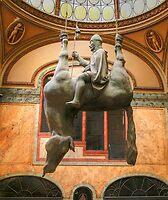 Prague (Upside Down Horse) by Anne-Marie Bokslag