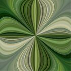 Jewell Abstract by Joy  Rector