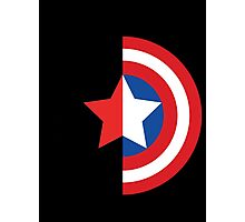 Stars and Stripes - The Winter Soldier Photographic Print