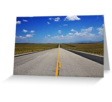 Just up ahead Greeting Card