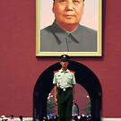 Mao portrait - China by chrisfx