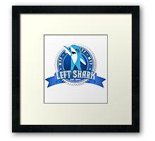 Left Shark MVP - Super Bowl Halftime Shark 2015 Framed Print