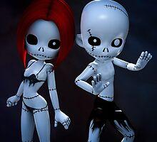 Rag Dolls Couple by Alexander Butler