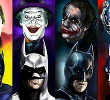 Batman 1966 - 2016 by vinnyjohn