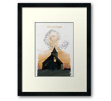 True Detective - Seeing Things Framed Print