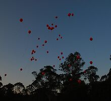 Red Balloons for Axel by Sarah Moore