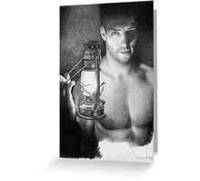 Lantern - the light keeper Greeting Card