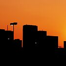 Dallas Sunset Silhouette by Marc Payne Photography